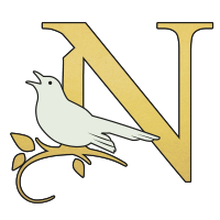 Nightingale on the green Logo